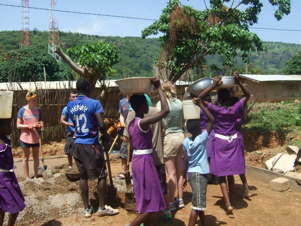Building-in-Ghana