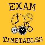 EXAM-TIMETABLES
