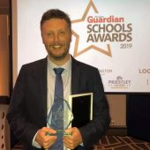 Mr Vallender wins Secondary Teacher of the Year!